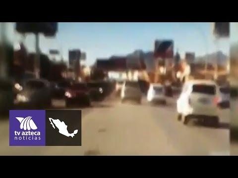 Video: Se registró persecución en Ciudad Juárez