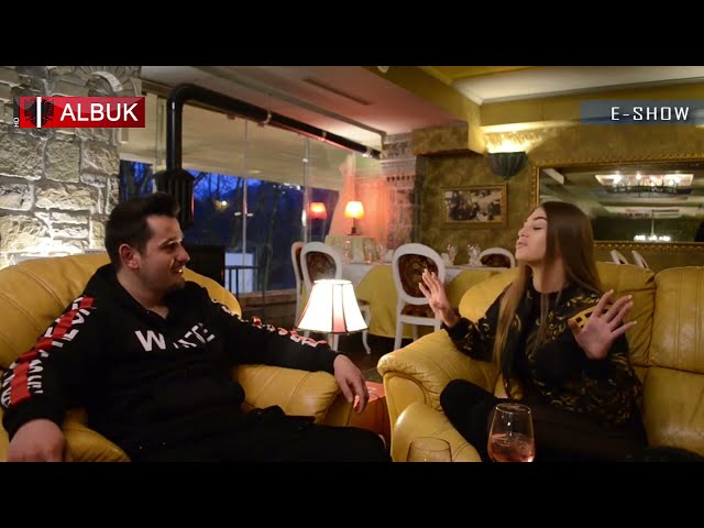 Trejsi Sejdini në ALB UK TV ne  E Show me Ermal Qori