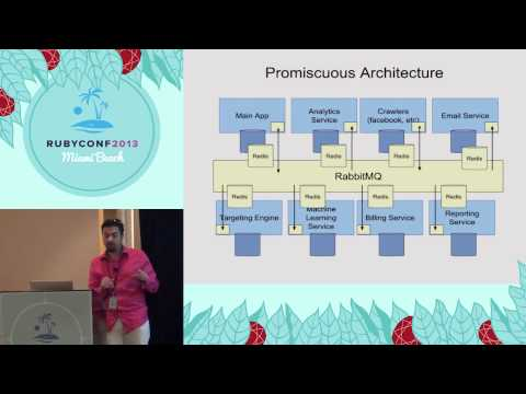 Ruby Conf 2013 - Promiscuous: A robust service-oriented architecture framework
