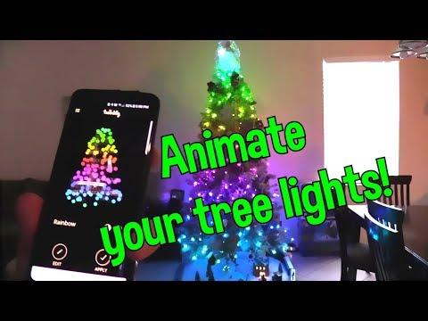 Twinkly LED RGB Christmas Tree Lights !