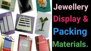 Jewelry Packing & Display Materials