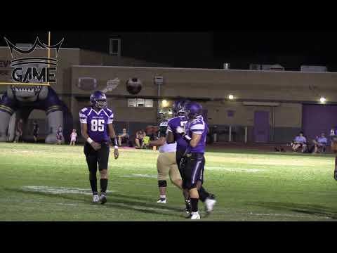 🔥🔥 Devin Larsen and Queen Creek Bulldogs BLOWOUT Skyline High School