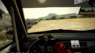 Colin McRae: DiRT 2 PC Gameplay [HD 720p] Gate Mode