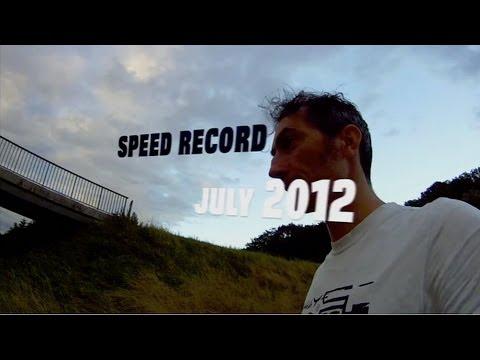 Rollerman speed record 2012