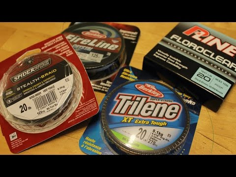 Choosing Fishing Line: Monofilament Vs Braid Vs Fluorocarbon