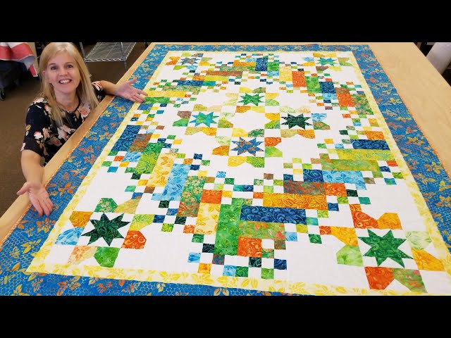 ROUNDABOUT QUILT - Lets Make it Together!!