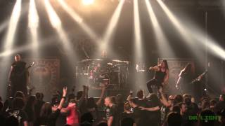 Cryptopsy - Defenestration / Slit Your Guts [Live at TRMF 2015]
