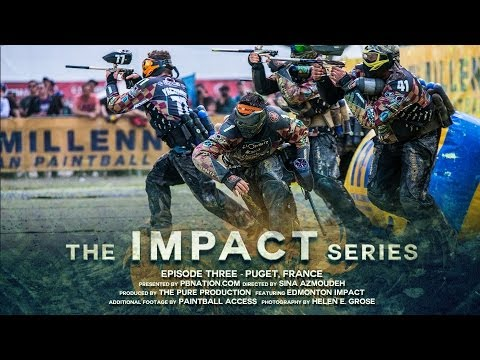 The Impact Series - Episode 3 - France, Puget Millennium Paintball