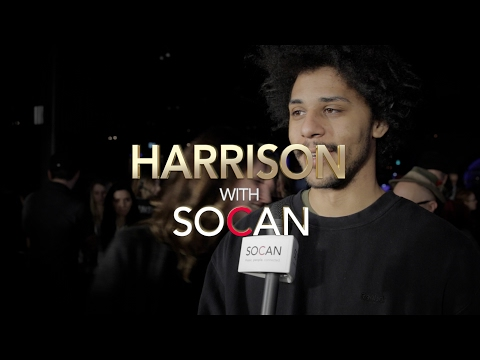 Harrison with SOCAN