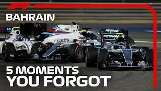 5 Moments You Forgot | Bahrain Grand Prix