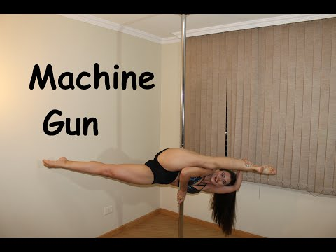 Machine Gun - Tutoriais de Pole Dance por Alessandra Rancan