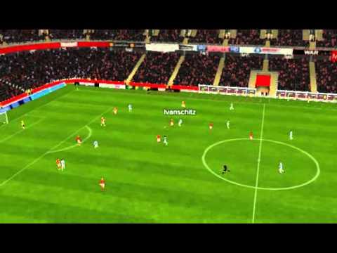 Middlesbrough vs Q.P.R. - Vargas Goal 49 minutes