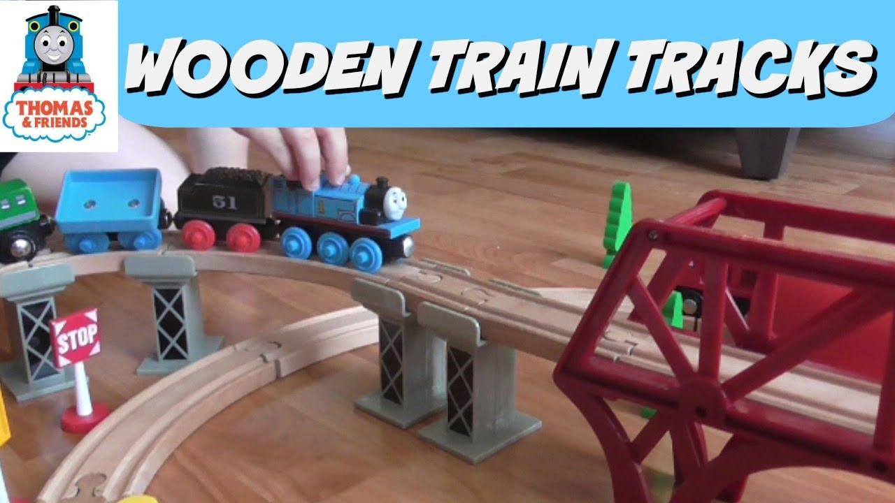 It\u0027s YouTube. Uninterrupted. & Thomas \u0026 Friends Wooden Train Tracks Set - Thomas the Tank Engine ...