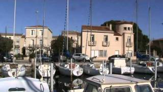 Bouzigues (Hérault) entre Mèze et Sète sur l'Etang de Thau