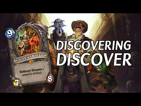 (Hearthstone) Discovering Discover