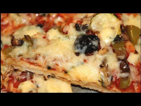 recette-pizza-3-fromages-:-boursin-mozzarella-emmentale