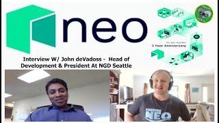 Neo3 - Oct 2019 - Making Life Easier for Crypto & Blockchain Developers NEO W/John deVadoss