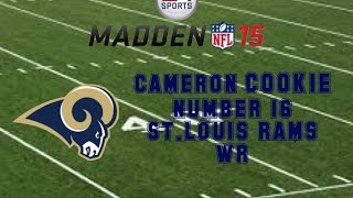 Madden NFL 15 connected franchise (player) COOKIE CONTINUED!