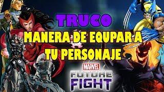 [Marvel Future Fight] TRUCO para MEJORAR a TODOS tus personajes | Sir Dragon
