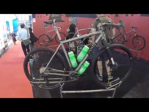 EUROBIKE 2016 - Moots Baxter titanium gravel/cyclocross bike