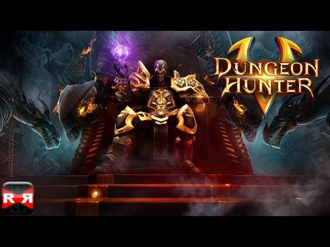 Dungeon Hunter 5 (By Gameloft) - IOS / Android - Gameplay Video