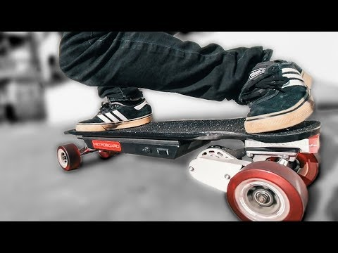 This INSANE Mini Electric Skateboard needs NO KICKTAIL