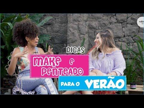 DICAS DE MAKE E PENTEADO PARA O VERÃO FT. MAINÁ - CASA SALON LINE | BY CRESPA