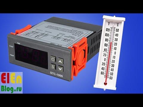 Цифровой терморегулятор из Китая (STC-1000)