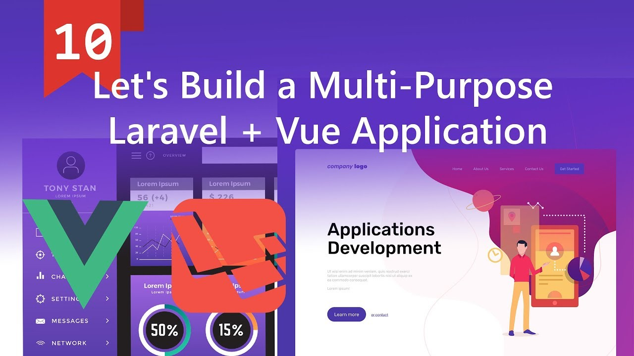 Display Users in Table and Modal Window for Creating new User in Laravel  and Vue