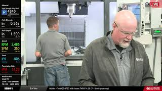 Allied Machine & Engineering T-A Pro™ Drilling Demos