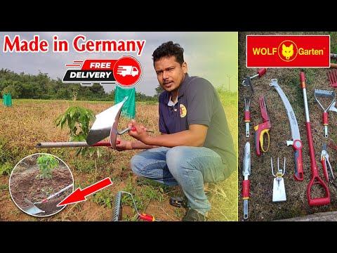 ଏହି tools ର ଚାହିଦା ଓଡ଼ିଶାରେ ଏତେ କାହିଁକି ( How to order WOLF Garten tools in Odisha). Free Delivery.