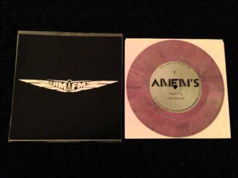 "AM/FM'S - Blow It Up 7"" Vinyl EP Radio Guru Records 2014"