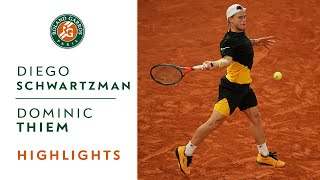 Diego Schwartzman vs Dominic Thiem - Quarterfinals Highlights | Roland-Garros 2020