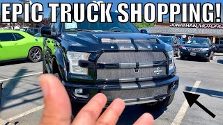 IMAGINE THE 760HP 2020 SHELBY GT500 W/750HP SHELBY F-150! *MY DREAM LINEUP*