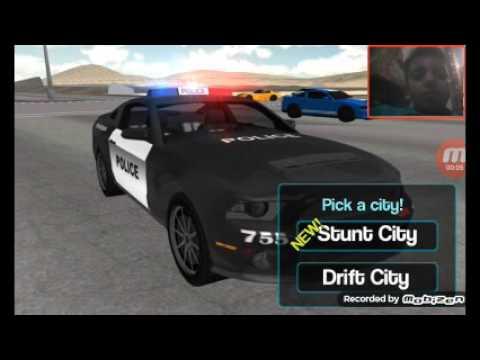 Los autos locos de policia