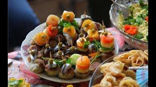 В Керчи из хамсы приготовили невиданные блюда