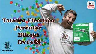 Taladro eléctrico percutor Hikoki DV13SS ⚒️ Hikokipedia