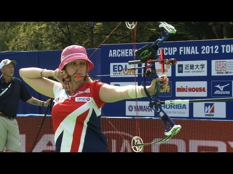 Danielle Brown v Christie Colin – compound women semifinal |Tokyo 2012 Archery World Cup Final