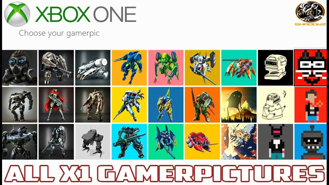 Xbox One Gamer Pics List : Xbox one day all gamer pictures available differences