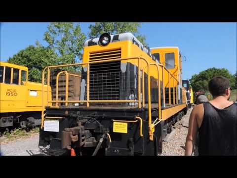 Day At Diesel Days At Rochester & Genesee Valley Railroad Museum In Rush, NY 8-20-16