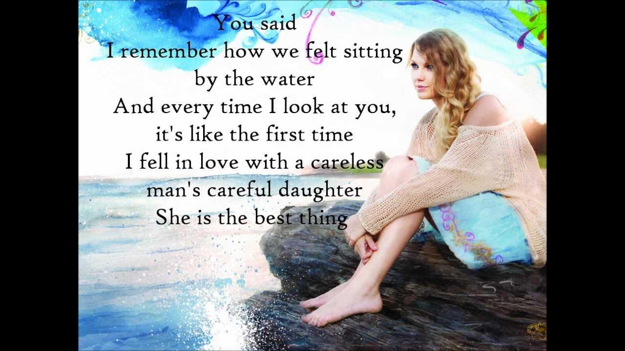 Taylor Swift Mine Lyrics Hd Hq Youtube
