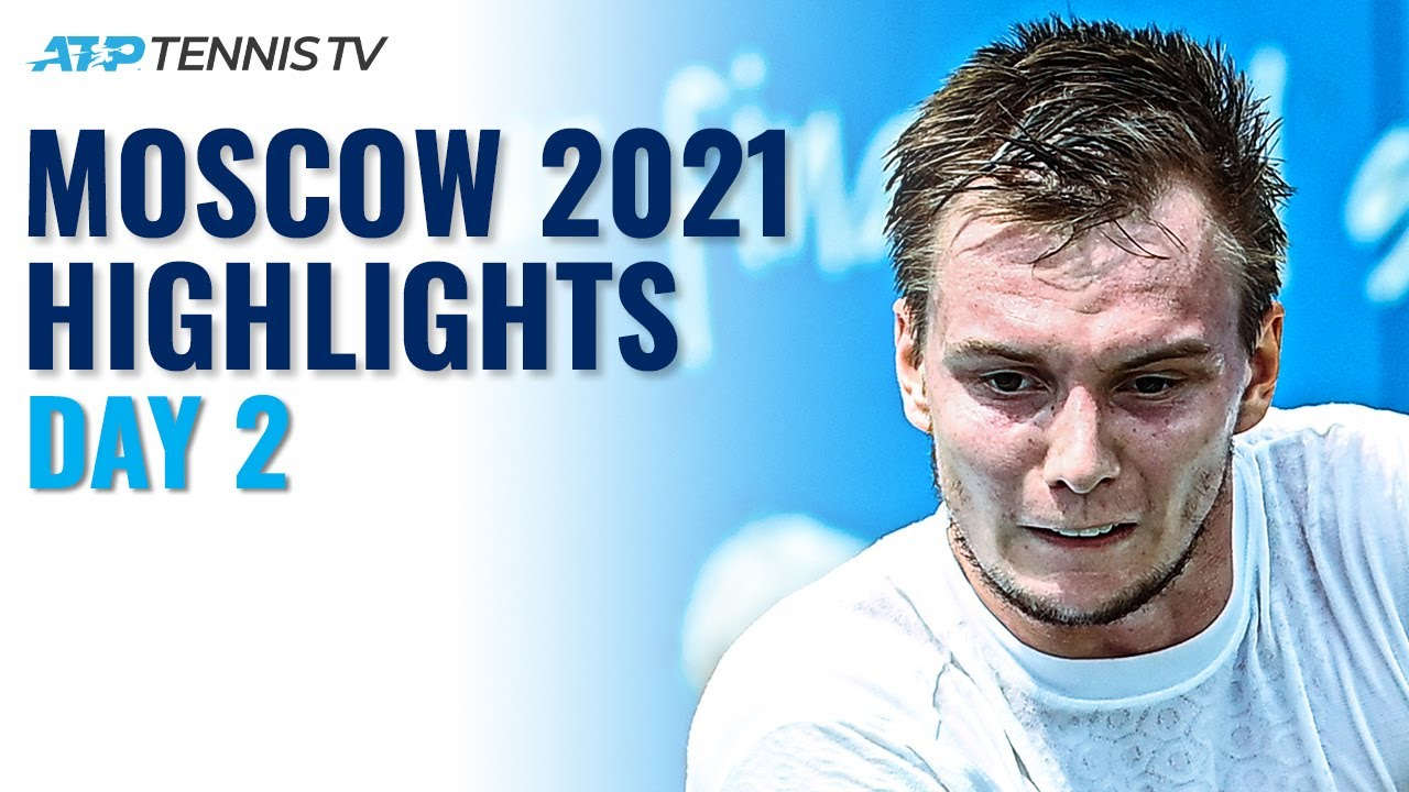 Bublik Headlines vs Marchenko; Mannarino Faces Safiullin | Moscow 2021 Day 2 Highlights