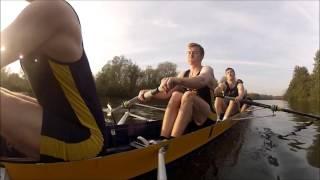 UEABC 1st IV+ winning IM3 at Norfolk Sculls 2015