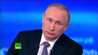 Ответ Путина на вопрос Юрия Борзаковского