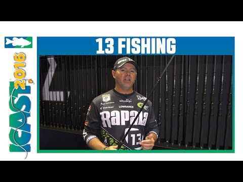 13 Fishing Muse Black Rods With David Lefebre | ICAST 2016
