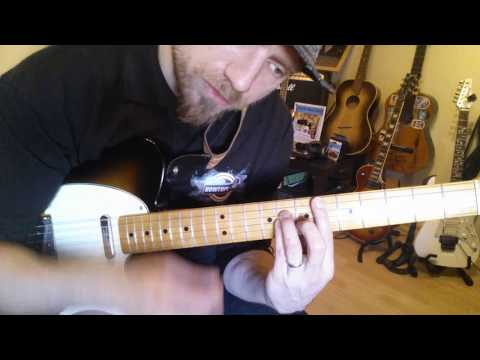 UNTER DEN WOLKEN - Toten Hosen Gitarren Tutorial How To Play | Teil 1 Intro Strophe