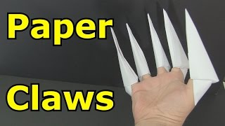 How to Make Paṗer Claws