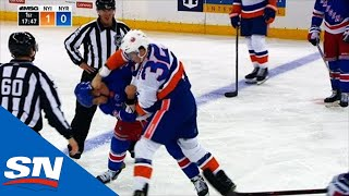 Islanders, Rangers Have Two Fights In Opening 2 And Half Minutes