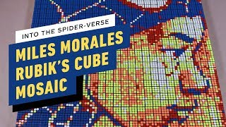 Spider-Man: Into the Spider-Verse - Miles Morales Rubik's Cube Art Timelapse thumbnail