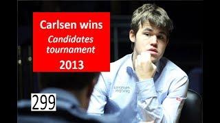 2018 Candidates build-up: Carlsen won in 2013!